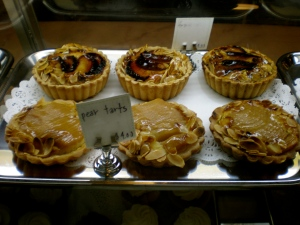 Pear Tarts and Other Treats at Joyce Bakeshop