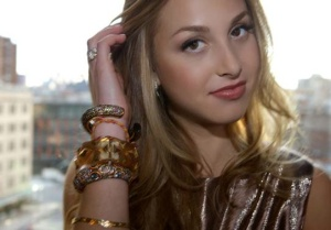 "Whitney Port from MTV's ""The City"""