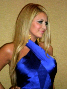 Aubrey O'Day former of Danity Kane at the 'Making of the Band 4' Finale Press Conference
