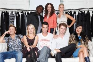 MAIN L-R Eric, Jen, Julie, Tara, Cody, Gary, Janna, Brett of MTV's Styl'd