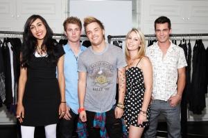 "Tara, Cody, Brett, Janna, Gary of MTV's ""Styl'd"""