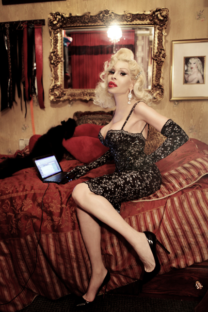 Amanda Lepore (photo: Kareem Black Photography)